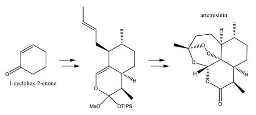 1-cyclohex-2-enone & Artemisinin