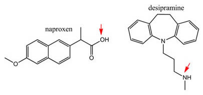 Naproxen & Desipramine