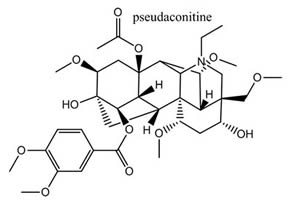 Pseudaconitine
