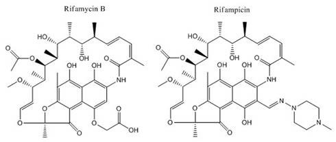Rifamycin B-Rifampicin
