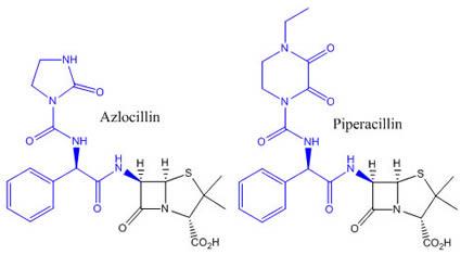 Ureidopenicillins