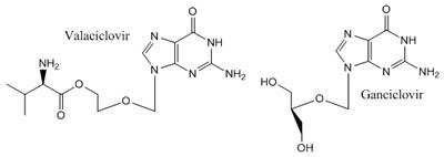Valaciclovir-Ganciclovir