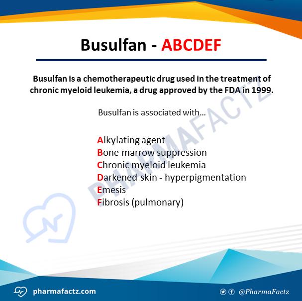 Busulfan - ABCDEF