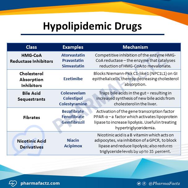 Hypolipidemic Drugs