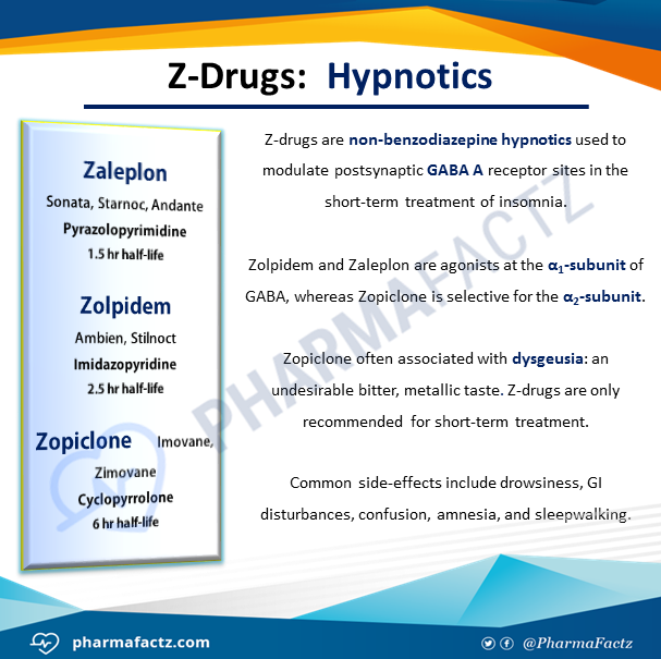 Z-Drugs: Hypnotics