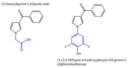 (3-benzoylpyrrol-1-yl)acetic-acid & [1-(3,5-Difluoro-4-hydroxyphenyl)-1H-pyrrol-3-yl]phenylmethanone