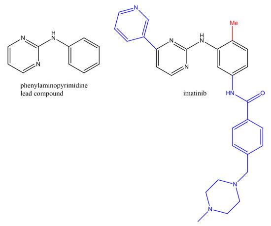 Phenylaminopyrimidine Lead Compound Imatinib