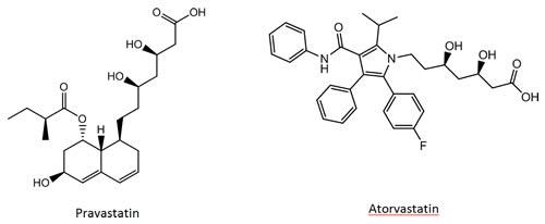 Pravastatin-Atorvastatin